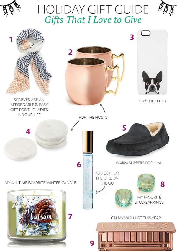 Holiday Gift Guide for the Last Minute Shoppers