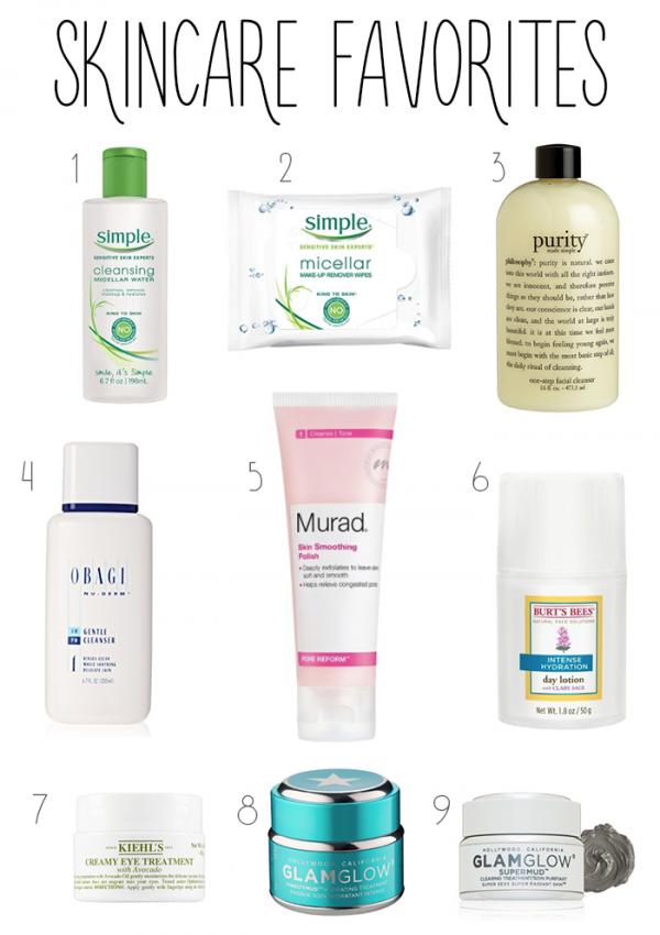 Skin Care Favorites & Routine