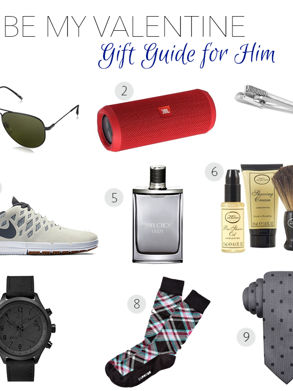 V-day Gift Guide For Him