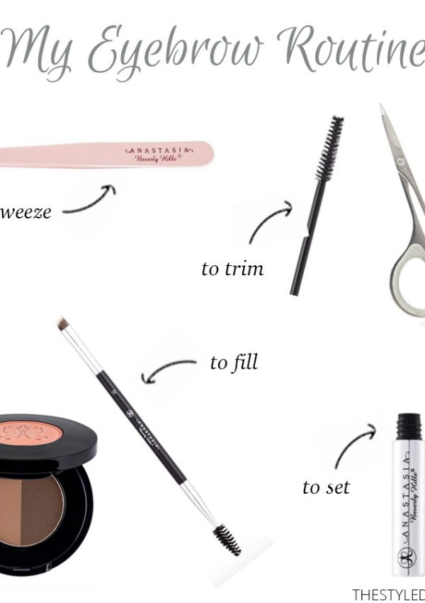 How to: Fill in your Eyebrows in 6 Easy Steps