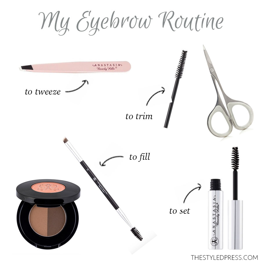 How to: Fill in your Eyebrows in 6 Easy Steps - The Styled ...