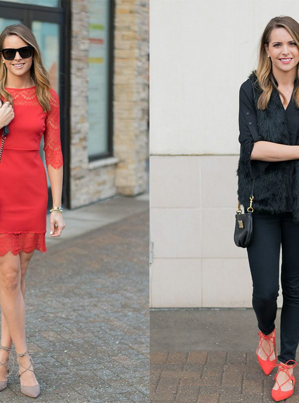 2 Laced-up Valentine's Day Looks