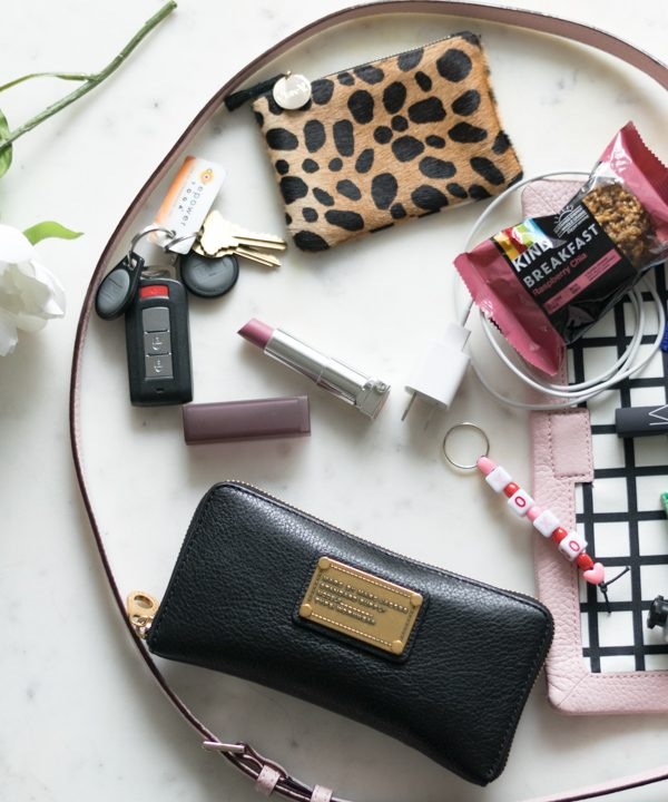 What's In My Kate Spade Bag…