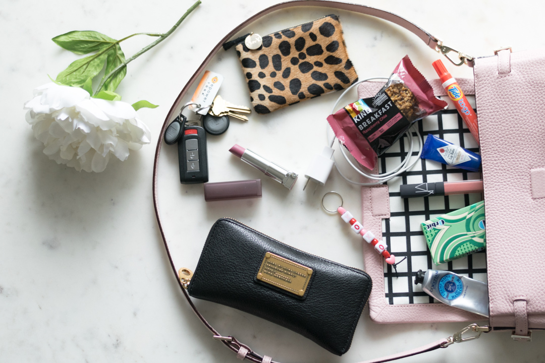 What s in my kate spade bag the styled press