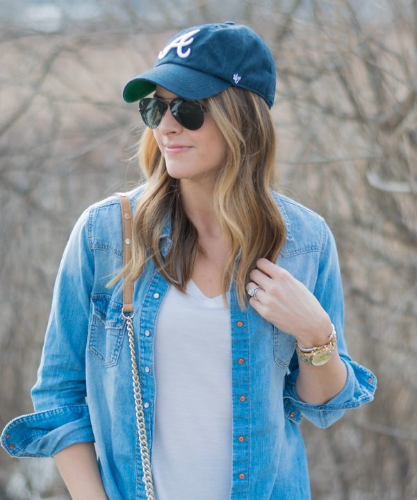 Baseball cap outfit