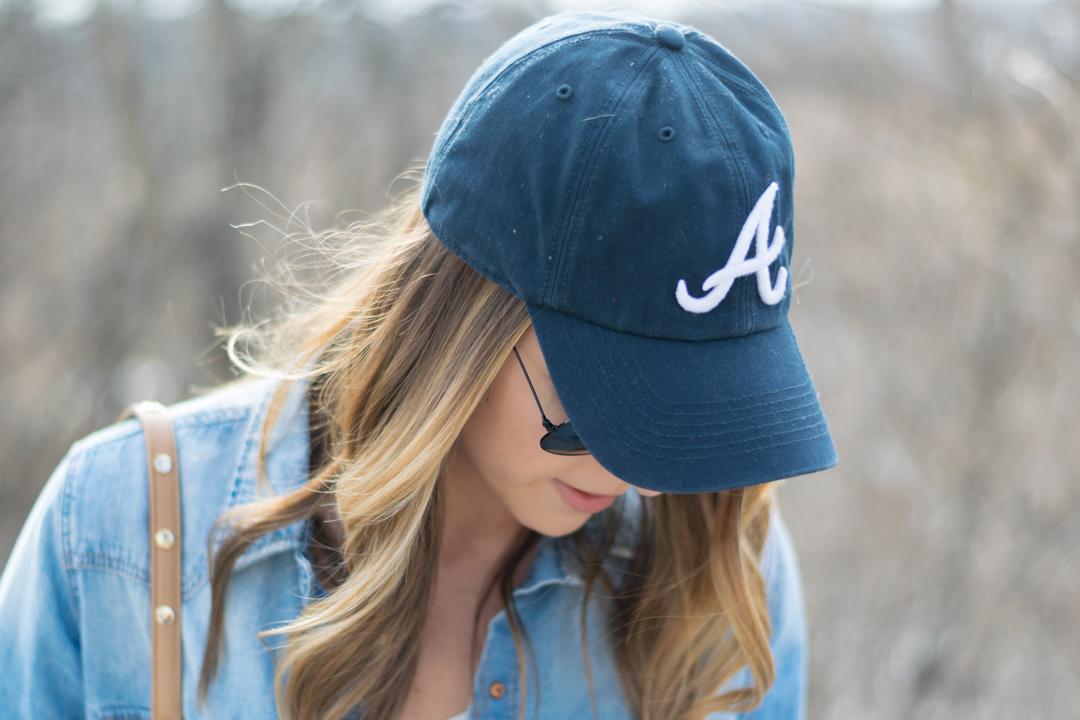 Baseball cap outfit