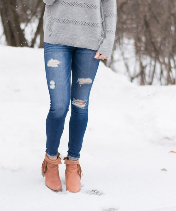 Fringe-Booties-Distressed-Denim