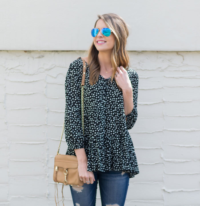 Anthropologie-Lila-Tiered-Tunic