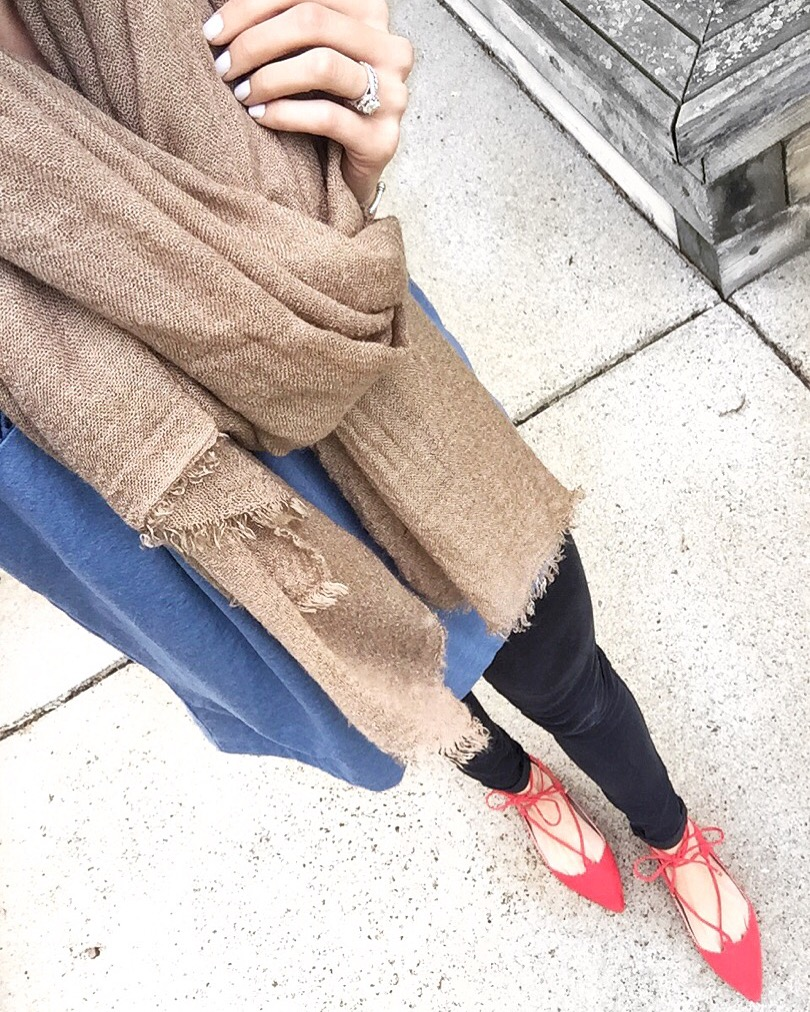 red-lace-up-flats, instagram recap