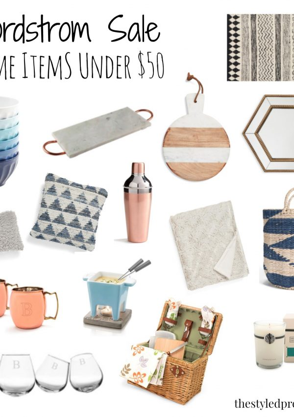 Nordstrom Anniversary Sale: Home Items Under $50