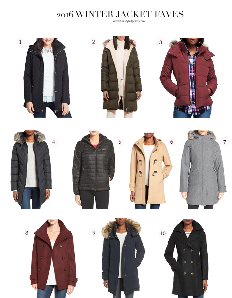 2016 Best Women's Winter Jackets & Coats - The Styled Press