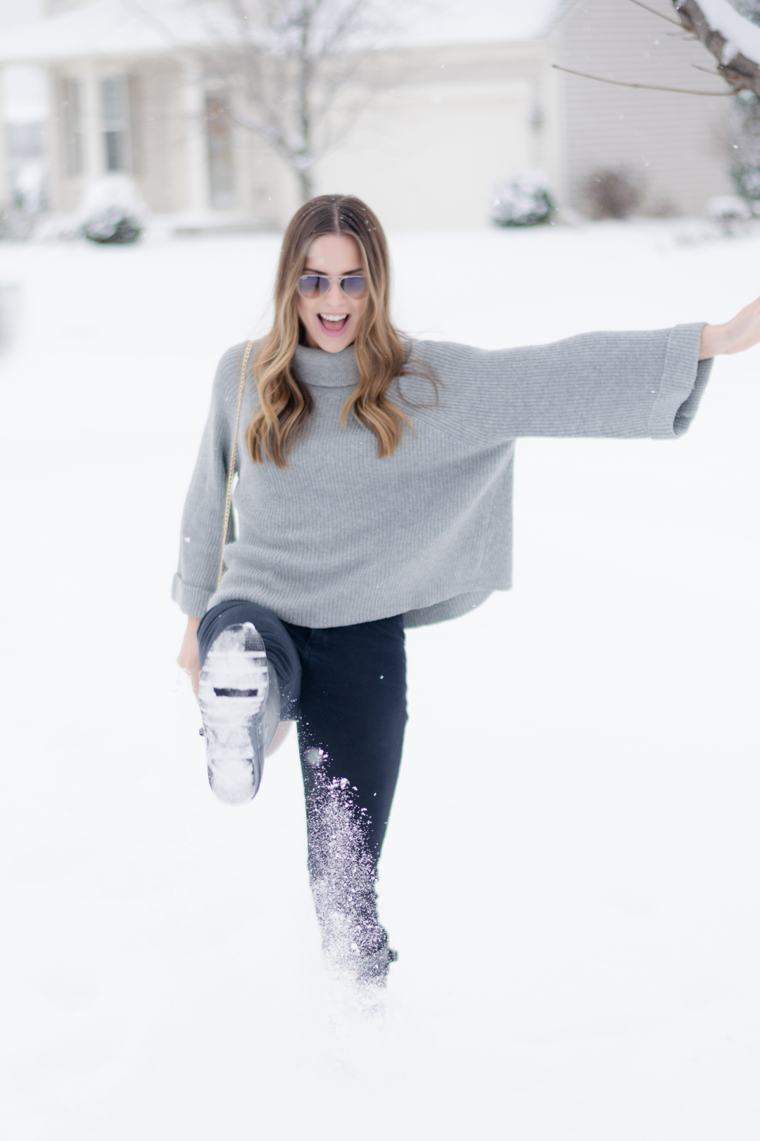 bloggiversary, blog anniversary, shop ditto, #endlesseyewear, neutral winter look, chloe saddle bag dupe