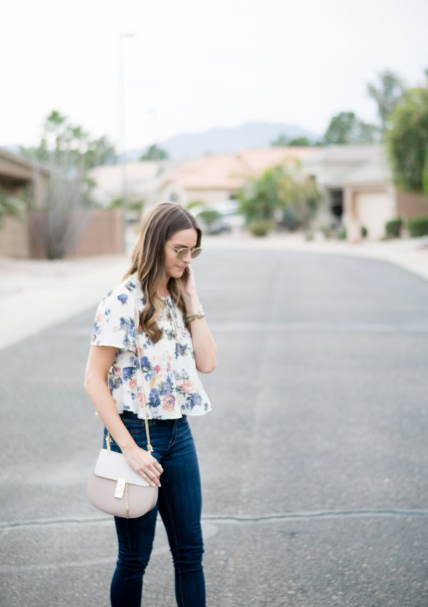 Rose Gold Ray Bans + Spring Outfit Inspo