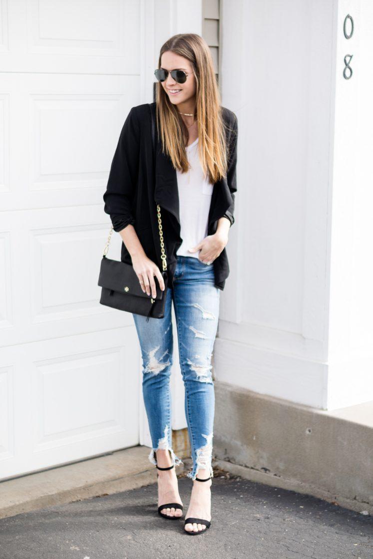How To Wear A Black Blazer Street Style The Styled Press