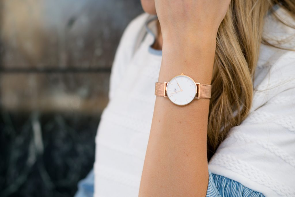 daniel wellington rose gold classic petite watch, minneapolis style blogger, fashion bloggers in minnesota, mn blogger
