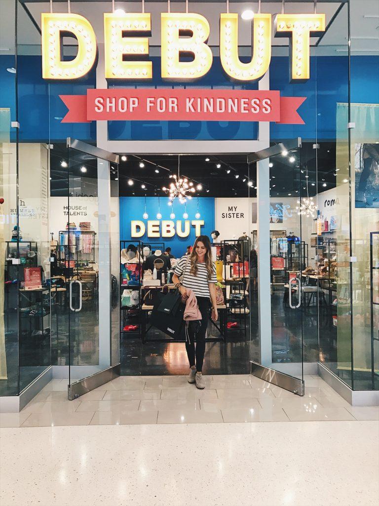 shop for kindness, debut mall of America, Minneapolis love, Minnesota pride