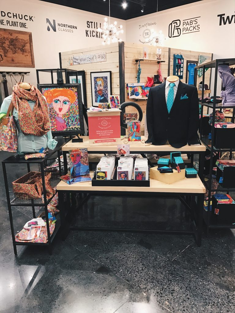 debut mall of america, shop for kindness, giving back Minneapolis, Through Jimmy's Eyes