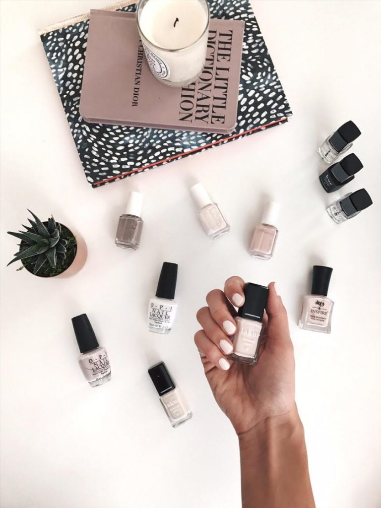 best neutral nail polish colors, 2017 best white nail polish, favorite nude nail polish, light colored nail colors at target