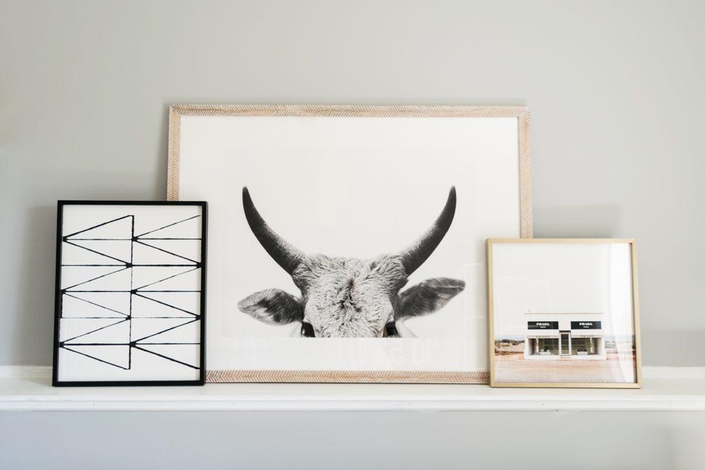 Minted Art Gallery, Jane Gallagher by Amy Carroll, visionary 2 by trbdesign, Prada Marfa by haley Warner