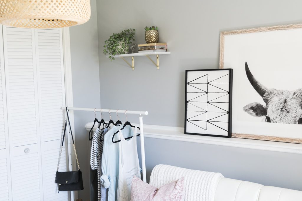 minted art gallery, faux snake plant, target throw pillows, girly office Inspo, cloffice tour, cb2 marble floating shelf