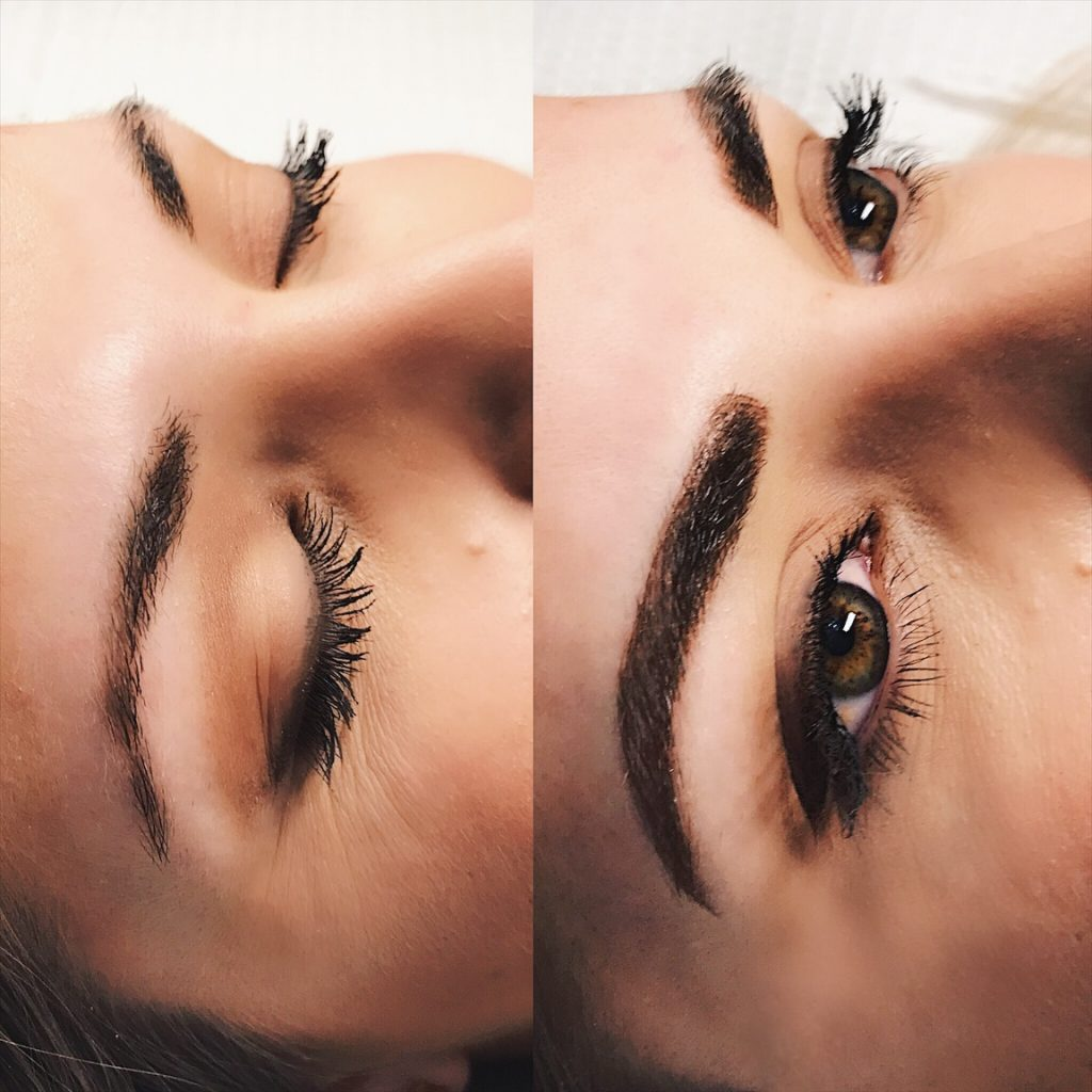Christina mikes le visage, microblading in Minneapolis, mn microblader, brow artists in the midwest