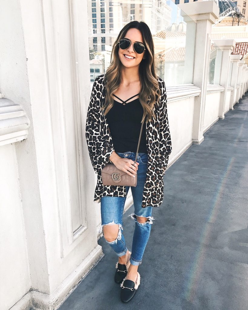 minneapolis travel blogger, show me your mumu leopard cardi, what to do in las vegas
