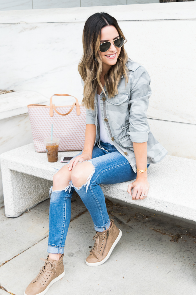 koolaburra Kayleigh high top sneakers, high-top sneakers outfit, Minneapolis blogger