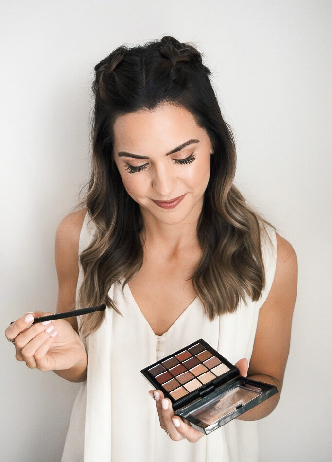 nyx ultimate shadow palette warm neutrals, best of nyx makeup, holy grail, Walmart products