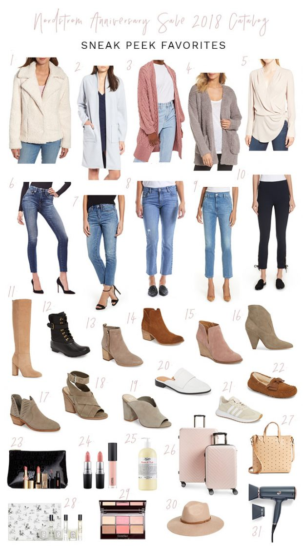 Nordstrom anniversary sale, catalog favorites, best of 2018