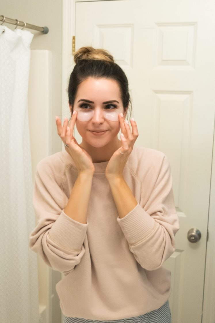 robin mcgraw revelation review, face sheet masks, under eye recovery mask