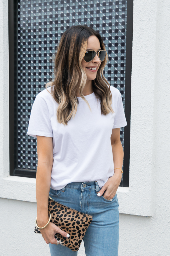 everlane cotton boxy-cut tee, Minneapolis fashion blogger