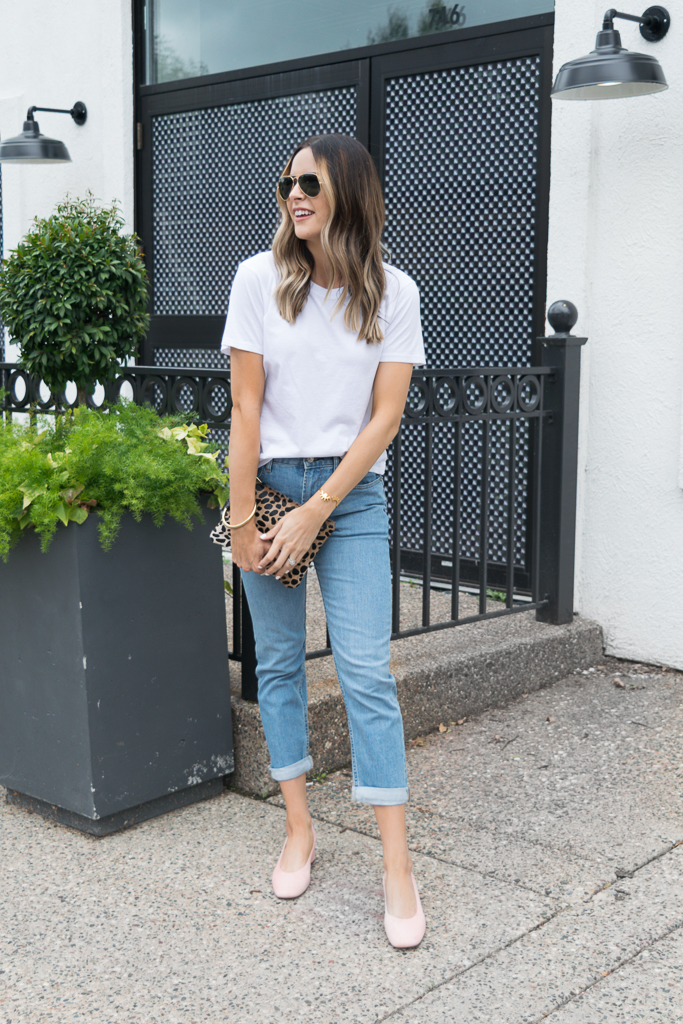 Minneapolis fashion blogger, everyone back to basics, the day heel, modern boyfriend jeans