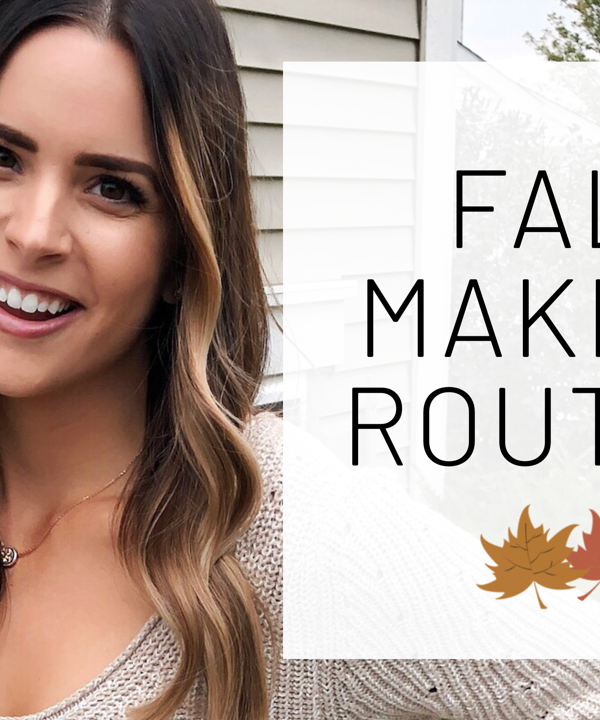 fall makeup routine for brown eyes, easy makeup tutorial