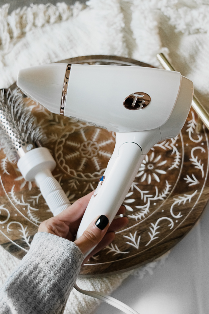 travel hair dryer, t3 featherweight compact hair dryer, minneapolis MN blogger