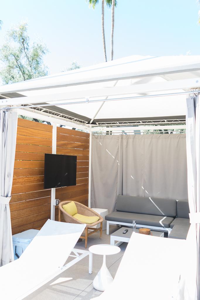 andaz scottsdale resort and spa, baby moon destination, best babymoon, turquoise pool cabana