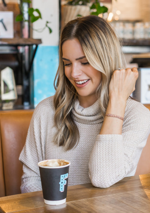 kohl's fine jewelry, mother's day gift ideas, 14K rose gold bracelet, minneapolis blogger