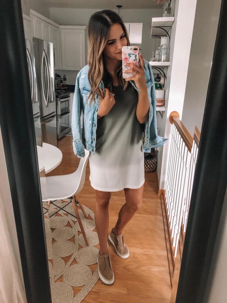 Universal Thread T-Shirt Dress, Target Haul Try On