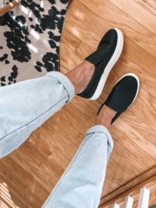 dsw-no-bad-days-black-slip-on-sneaker
