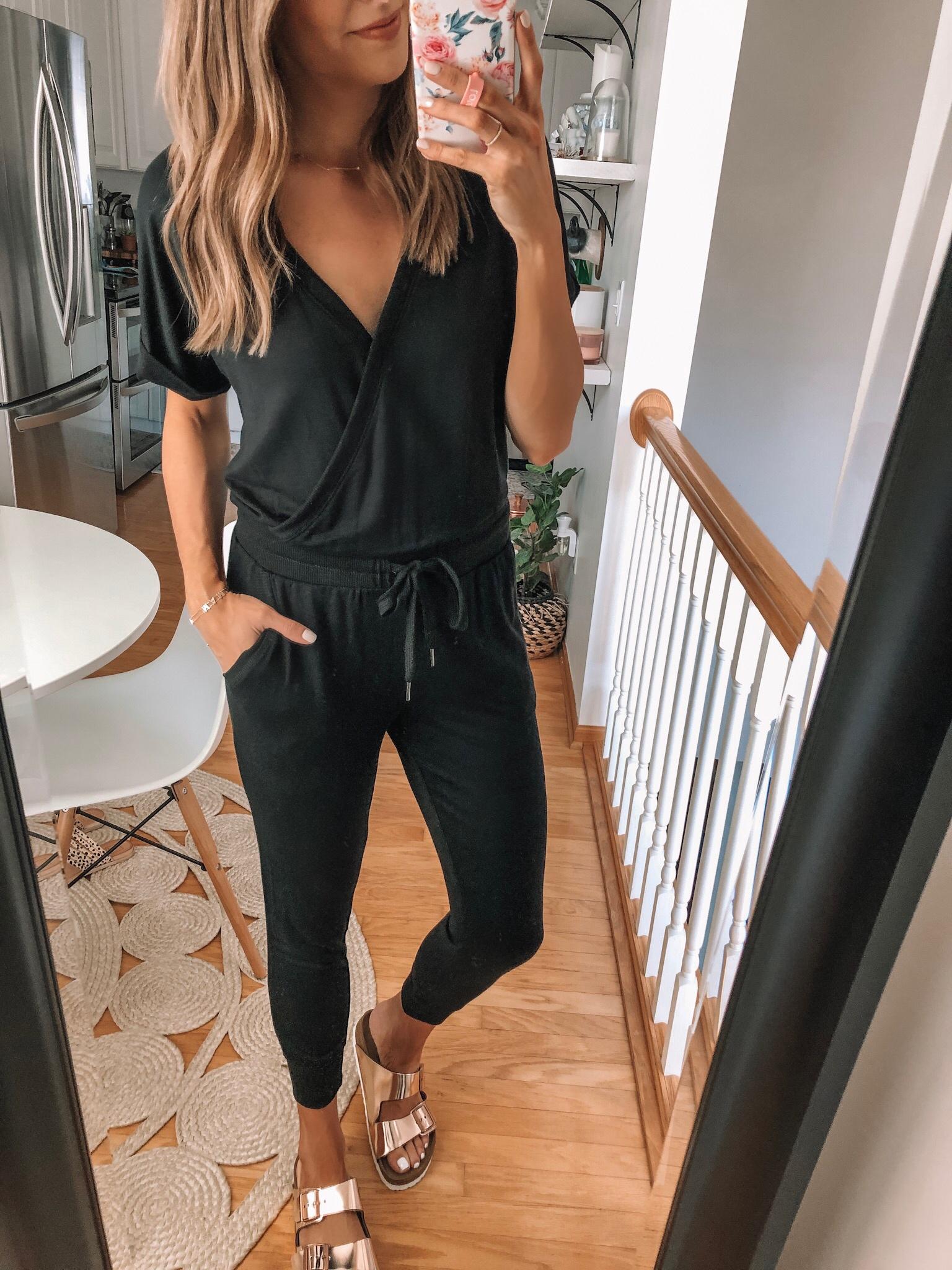 z supply black jumpsuit, evereve Mother's Day sale 2019