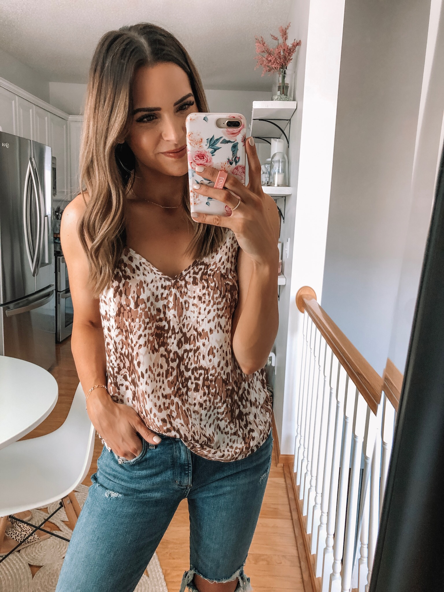 evereve Mother's Day sale 2019, Allison joy dee leopard cami