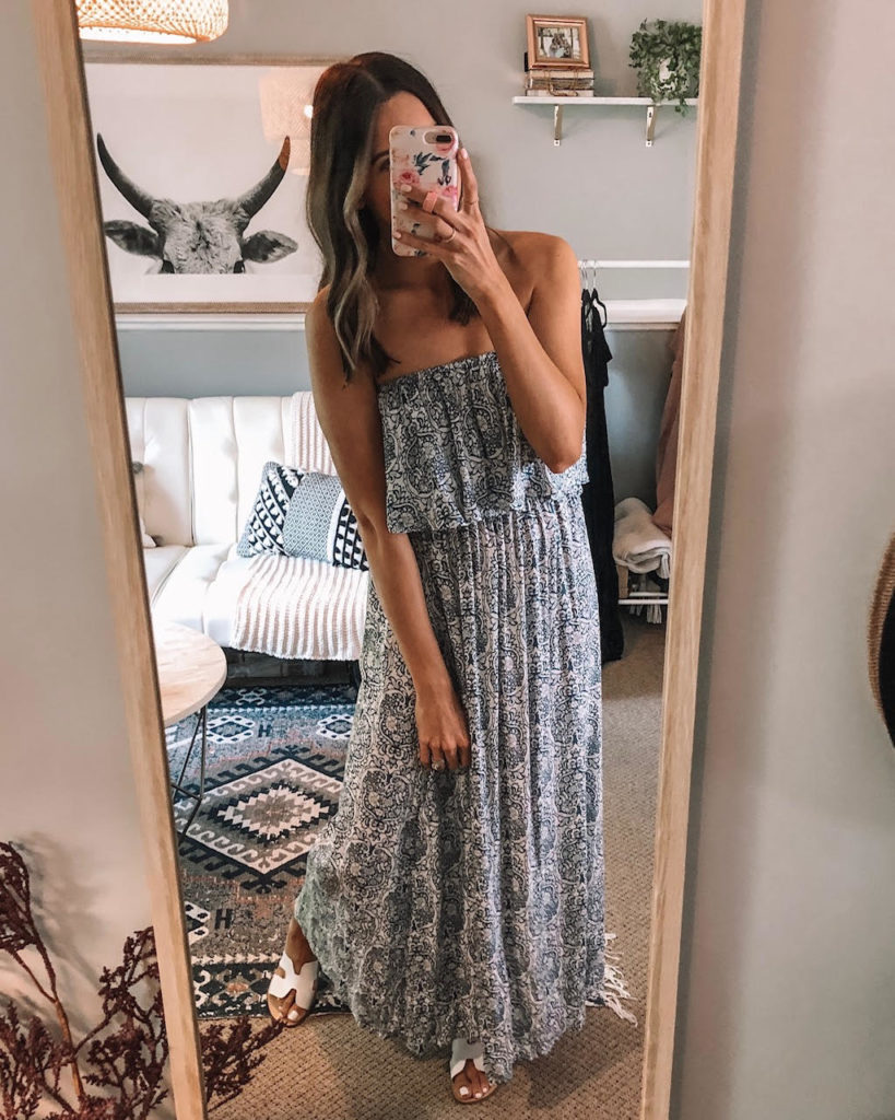 amazon try on, haul, june, 2019, maxi dress