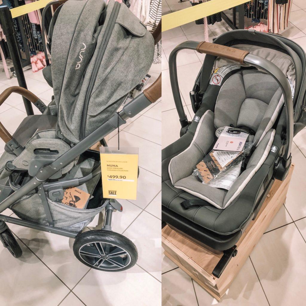nordstrom anniversary sale 2019, nsale, baby, nuna stroller, carseat