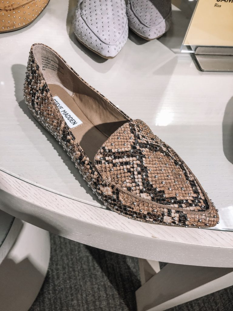 nordstrom anniversary sale 2019, nsale, Steve madden studded feather loafer flat