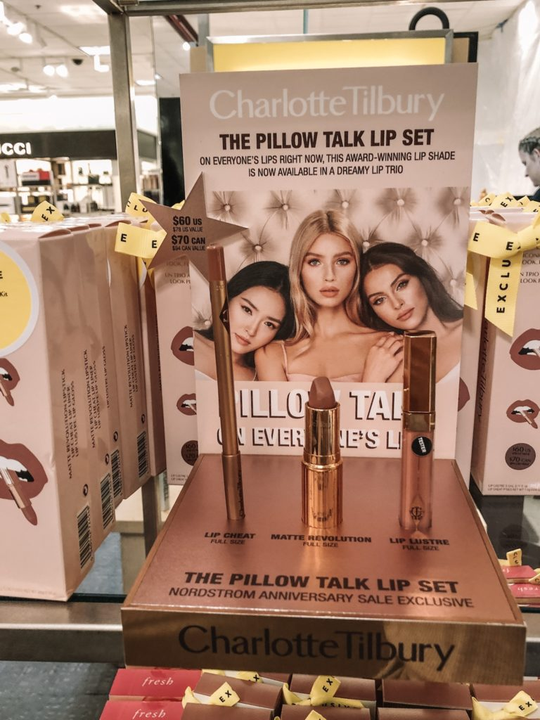 nordstrom anniversary sale 2019, nsale, Charlotte tilbury pillow talk lip set