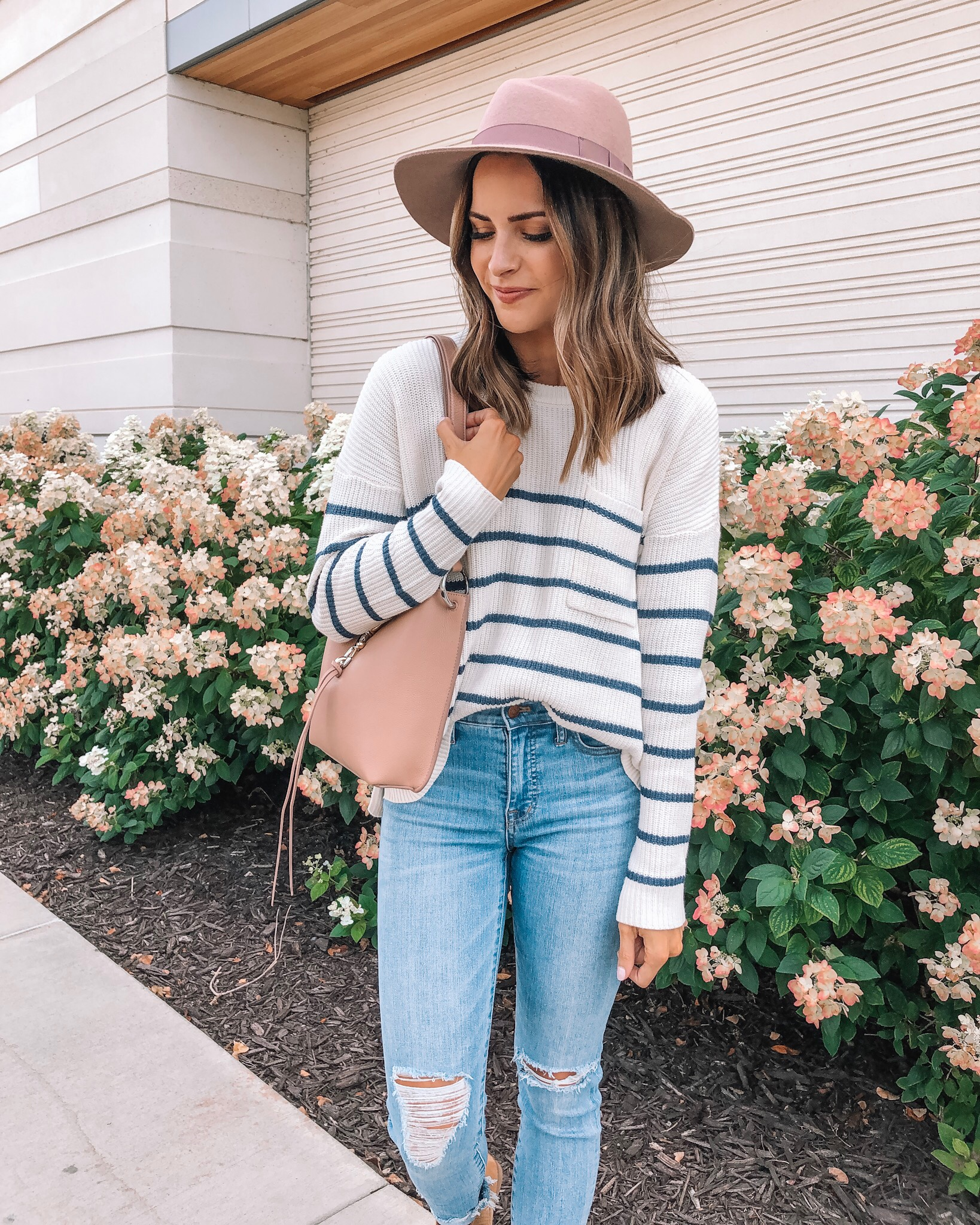 my go-to fall outfit, fall fashion, made well, Nordstrom, Rebecca minkoff small Megan crossbody bag, wool felt hat, minneapolis blogger