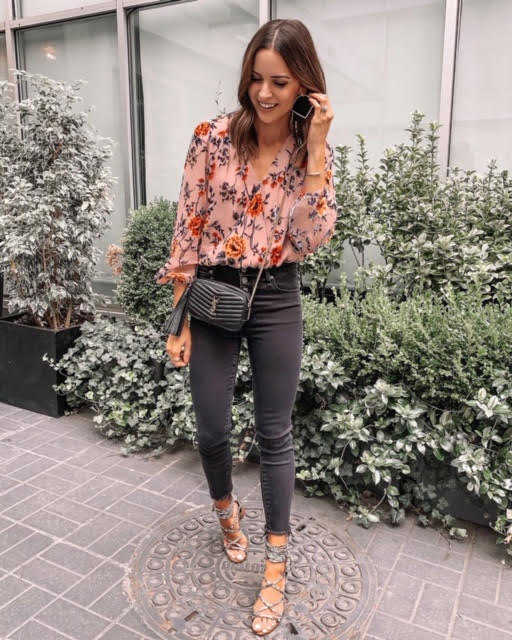 best sellers of september 2019, faux, floral top, nordstrom, NYFW