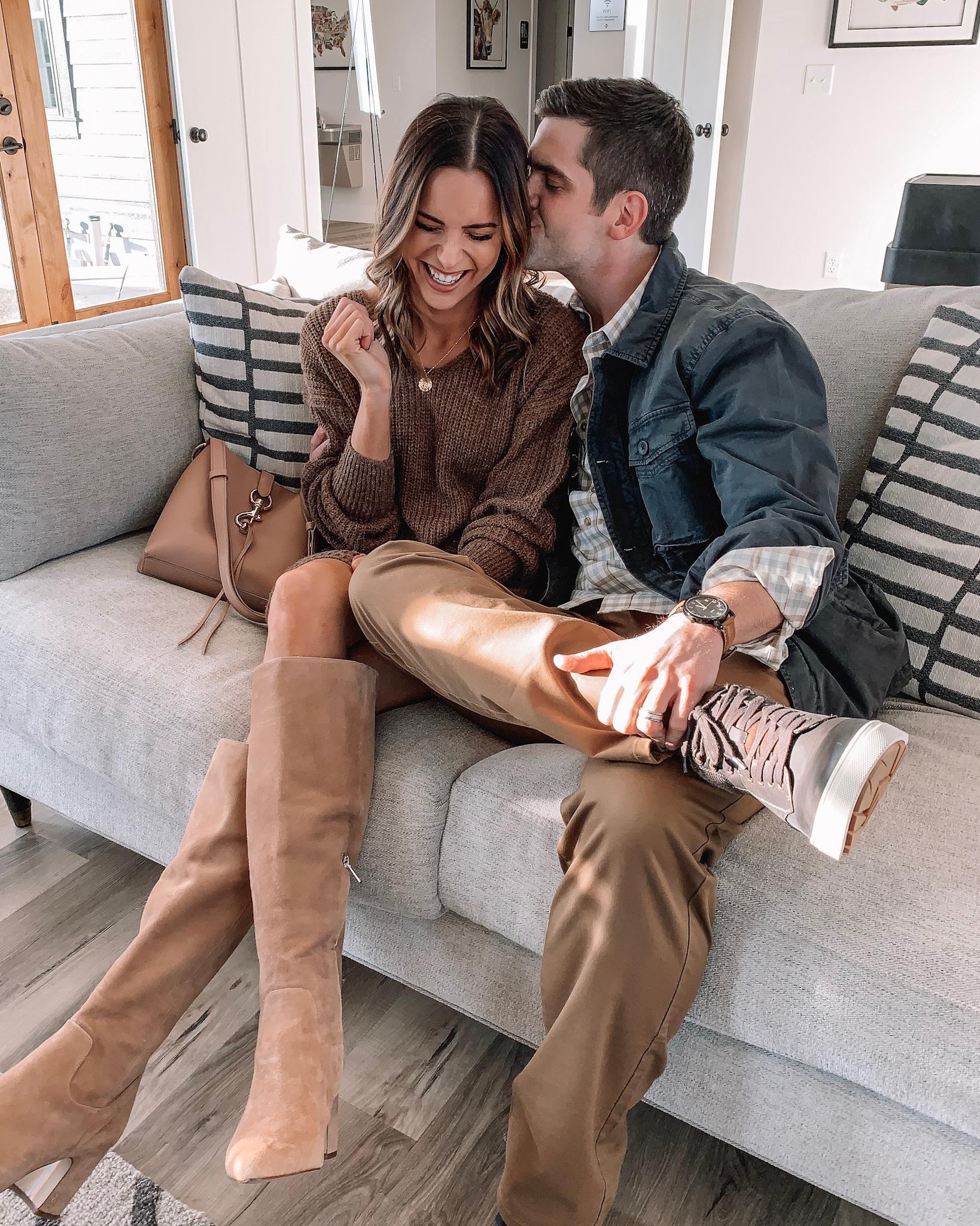 tom q&a, nordstrom menswear, men's fall fashion, family photo dad outfit, sam Edelman hai boots