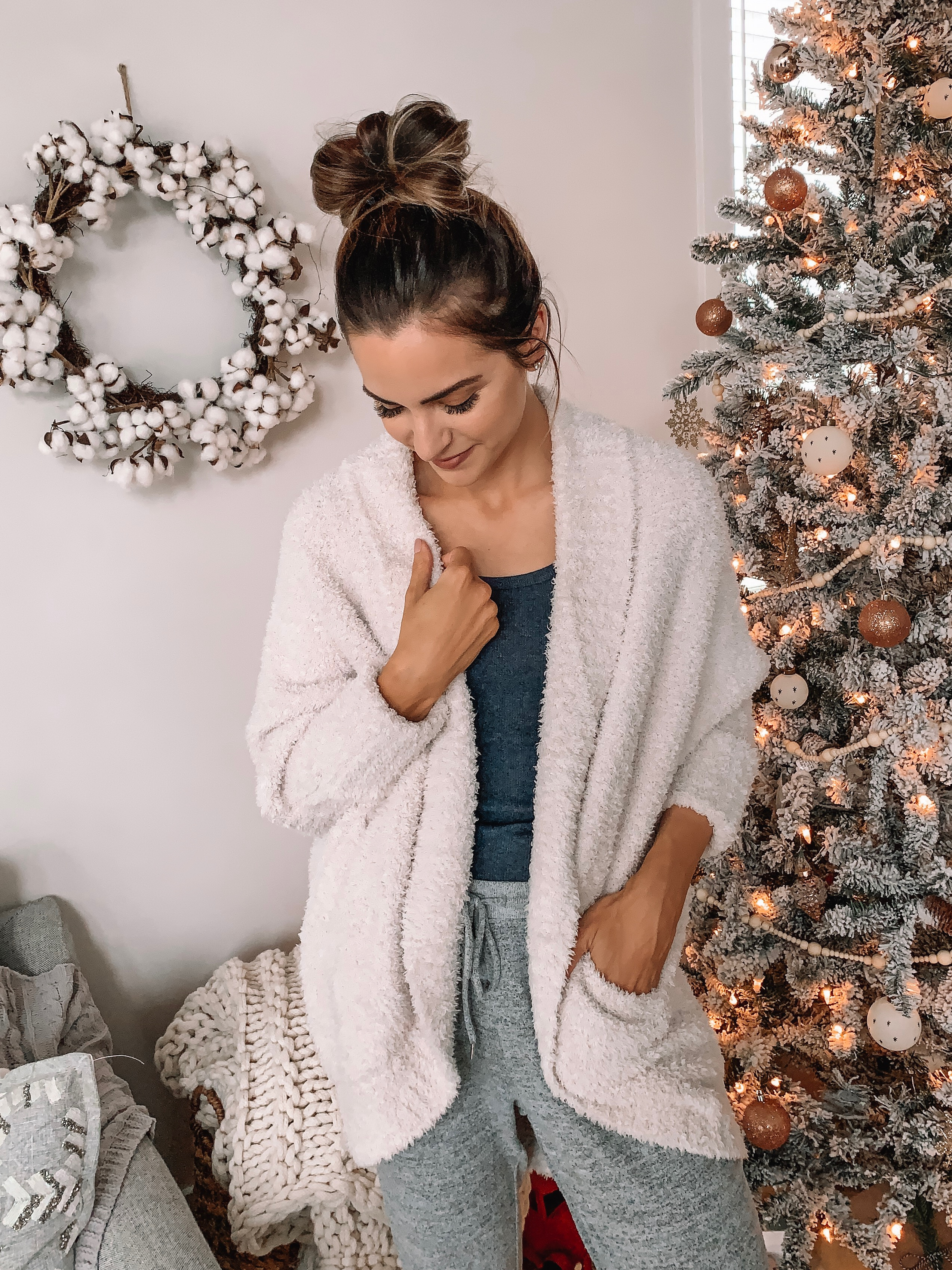 barefoot dreams cozychic cocoon cardi, gifts for her, best of QVC gift guide, barefoot dreams sale