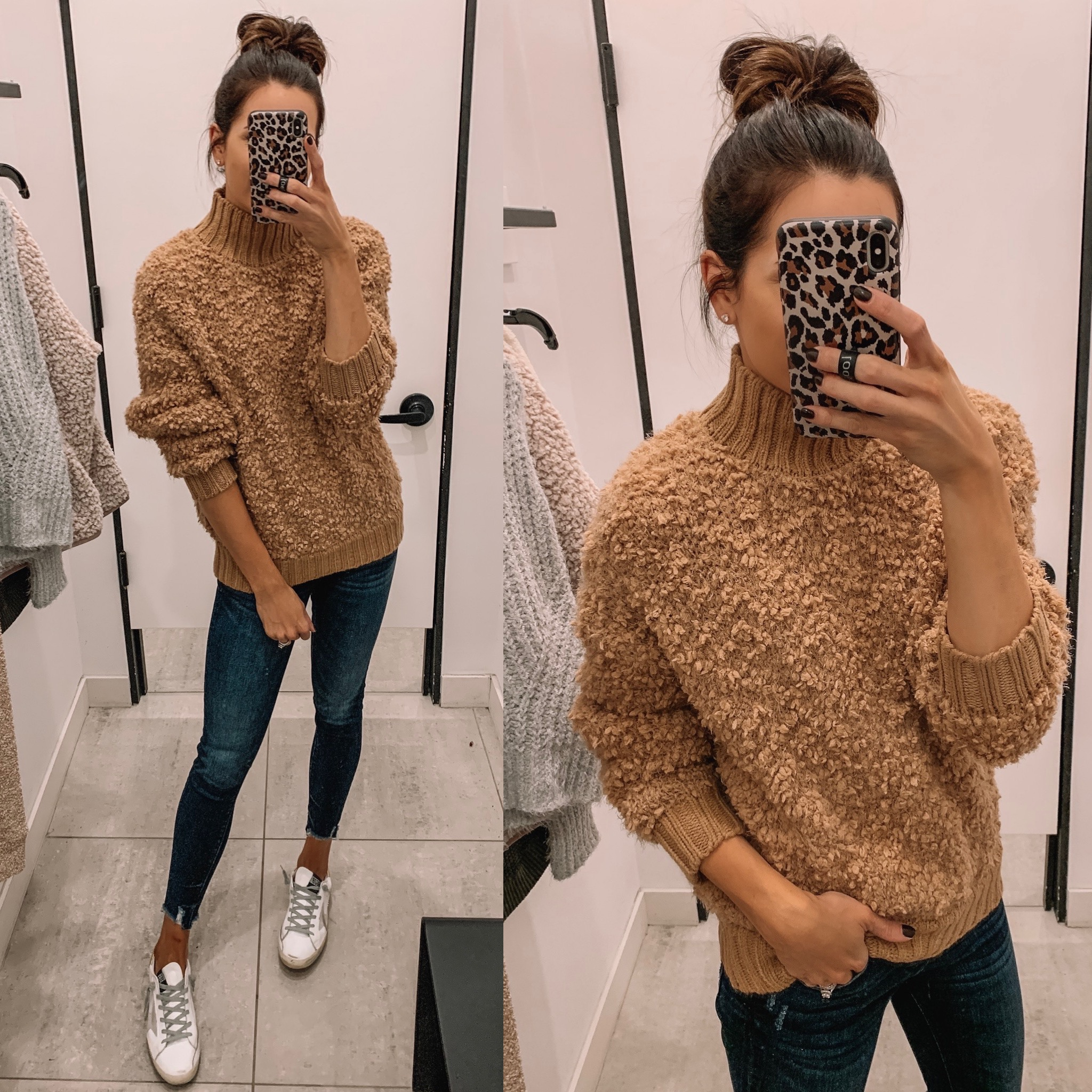 express Black Friday cyber Monday sale 2019. chenille pullover, affordable fashion, winter fashion, cozy outfit, Minneapolis blogger