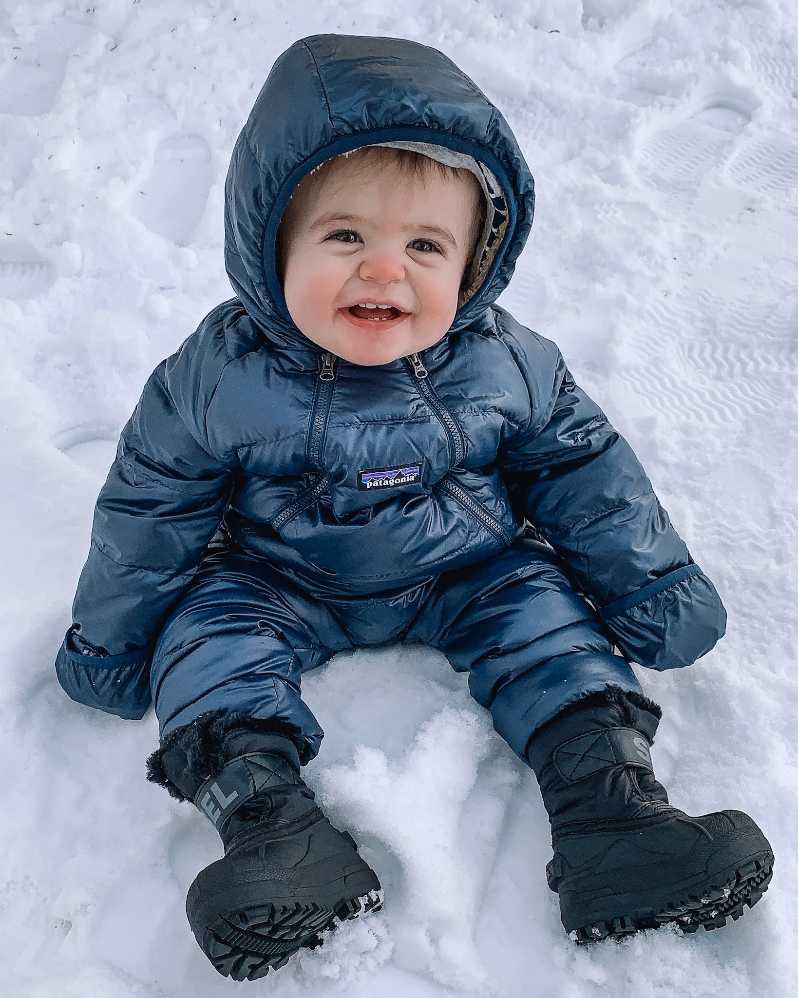 winter wear for family, gift guide, baby snowsuit, Patagonia, Sorel boots toddler, backcountry